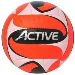 Piłka siatkowa AXER SPORT Active Biało-Pomarańczowo-Czarny (rozmiar 5)