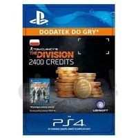 Pozostałe gry i konsole, Tom Clancys The Division 2400 Premium Credits [kod aktywacyjny]