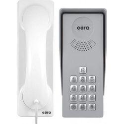 DOMOFON ''EURA'' ADP-36A3 ''INGRESSO BIANCO'' - 1-rodzinny, kaseta zewnętrzna z szyfratorem