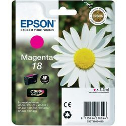 Epson oryginalny ink C13T18034012, T180340, magenta, 3,3ml, Epson Expression Home XP-102, XP-402, XP-405, XP-302