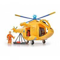 Helikoptery dla dzieci, Simba Strażak Sam Helikopter Wallaby II z figurką