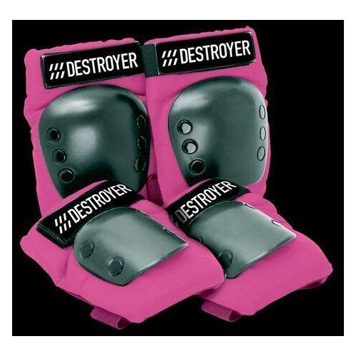 Ochraniacze na ciało, ochraniacze DESTROYER - Rec Grom Pink (PINK) rozmiar: OS