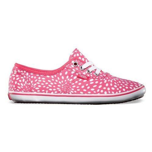 Damskie obuwie sportowe, buty VANS - Cedar (Spots) Raspberry/Cordovan (8S5) rozmiar: 34.5