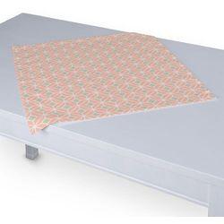 Dekoria Serweta 60x60 cm, szare romby na łososiowym tle, 60 x 60 cm, Geometric