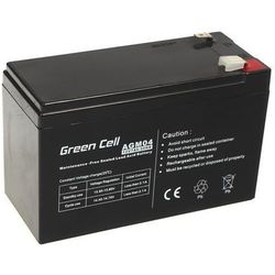 Akumulator AGM 12V 7Ah {151 × 65 × 98 mm} (GreenCell)