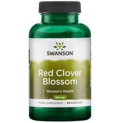 Swanson Czerwona Koniczyna (Red Clover Blossom) 430 mg 90 kapsułek