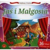 Książki dla dzieci, Bajkowa kraina Jaś i Małgosia (opr. miękka)