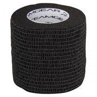 Piłka nożna, Taśma do getr Select szeroka czarna 5cm x 4,5m