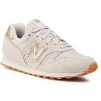 Damskie obuwie sportowe, New Balance Sneakersy WL373FC2 Beżowy