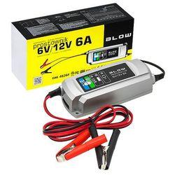 Prostownik 6V-12V/6A ładowarka do akumulatorów BLOW 4826#