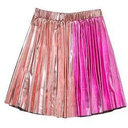 Outfit Kids METALLIC PLEATED SKIRT Spódnica plisowana pink
