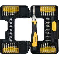 Zestawy narzędzi ręcznych, ZESTAW KOŃC. ŚRUBOKRĘT 37CZ. Z UCHWYTEM / 65022 / VOREL - ZYSKAJ RABAT 30 ZŁ