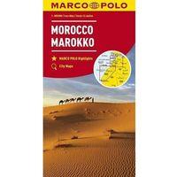 Mapy i atlasy turystyczne, Mapa Drogowa Marco Polo. Maroko 1:800 000 w.2018 - Praca zbiorowa (opr. broszurowa)