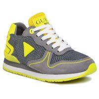Półbuty i trzewiki dziecięce, Sneakersy GUESS - Glorym Jr FI6GOJ ELE12 GRY