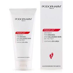 Próbki, Porady kosmetologa Podopharm. PODOFLEX® Maść do popękanej i zrogowaciałej skóry stóp. 75 ml.