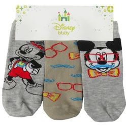 Skarpetki niemowlęce Myszka Mickey 3 pak - 62-74 cm