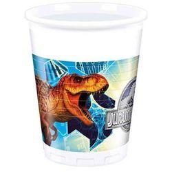 Kubeczki urodzinowe Jurassic World - Park Jurajski - 200 ml - 8 szt.