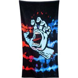 ręcznik SANTA CRUZ - Screaming Hand Tie Dye Towel Red/Blue (RED-BLUE) rozmiar: OS
