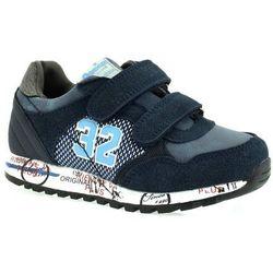 Sportowe buty dla dzieci American Club K152753 - Granatowy