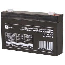 Akumulator AGM 6V 7Ah F4,7
