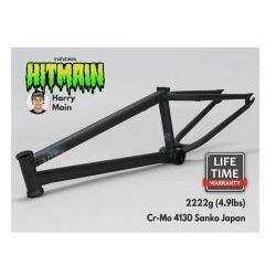 "Rama BMX Mafiabikes Hitmain 20.4"" Flat Black"