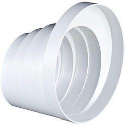 Redukcja wielostopniowa kanału wentylacyjnego okrągłego ABS Awenta RKO DN 100-150