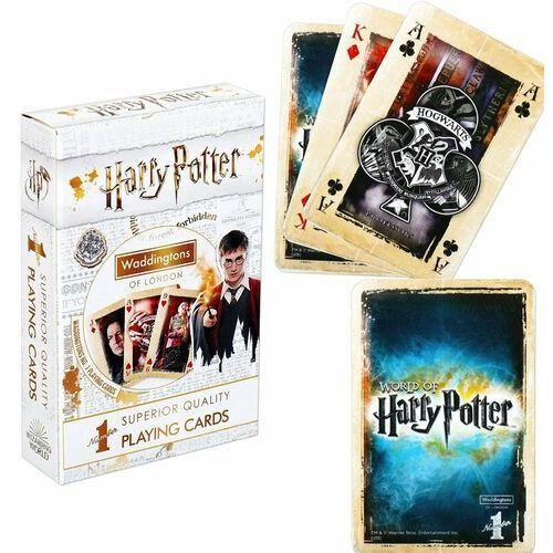 Puzzle, Karty do gry waddingtons no. 1 harry potter white