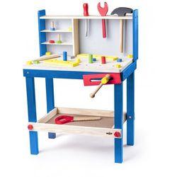 Woody stół warsztatowy dla dzieci