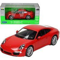 Osobowe dla dzieci, Porsche 911 Carrera S, czerwone - Welly