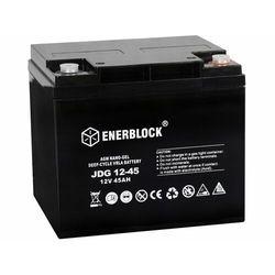 Akumulator ENERBLOCK AGM - GEL Hybrid JDG12-45 12V 45Ah
