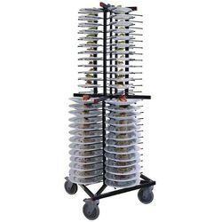 Wózek do transportu talerzy | pojemność 104 szt. | 600x600x(H)1790mm