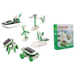 Zabawka - Zestaw Edukacyjny Solarny 6w1 Robot Solar.