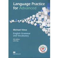 Książki medyczne, Language Practice for Advanced. Podręcznik z Kluczem + Kod do Ćwiczeń Online (opr. miękka)