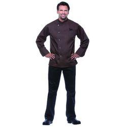 Bluza kucharska męska, rozmiar 52, jasnobrązowa | KARLOWSKY, Lars