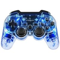 Gamepady, Kontroler PS3 & PC PDP Pad Wireless Afterglow Blue + DARMOWY TRANSPORT!