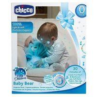 Pozostałe zabawki dla najmłodszych, CHICCO Miś z projektorem niebieski