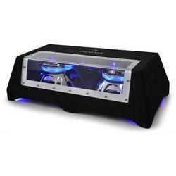 Auna Podwójny subwoofer samochodowy C8-Sub-2x12-LED 30cm (12