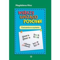Książki dla dzieci, Wyrazy łudząco podobne ćwiczenia w czytaniu (opr. miękka)