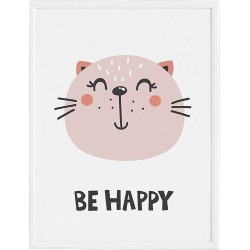 Plakaty, Plakat Be Happy 50 x 70 cm
