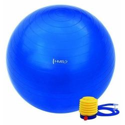 Piłka gimnastyczna YB01 (PG 55 cm) HMS niebieska - niebieski