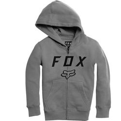 bluza FOX - Youth Legacy Moth Zip Fleece Heather Graphic (185) rozmiar: YL
