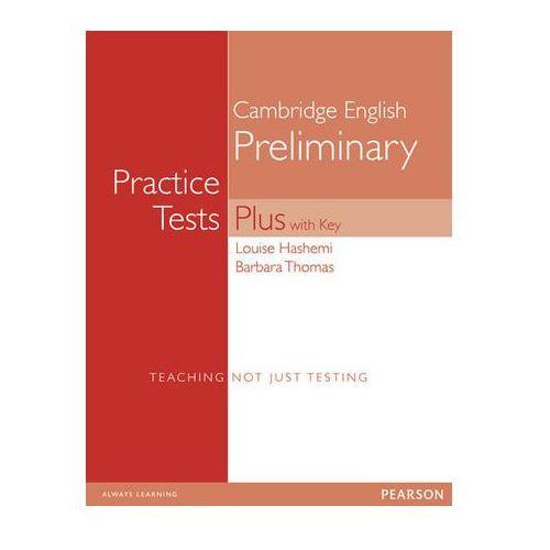 Książki do nauki języka, PET Practice Tests Plus. Podręcznik z Kluczem (opr. miękka)