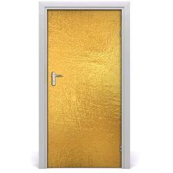 Naklejka fototapeta na drzwi Złota folia tło
