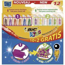Pisaki Bic Kids Mini Colour&Create 893238 12kol.
