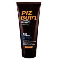 Kosmetyki do opalania, PIZ BUIN Active & Protect Sun Lotion SPF30 preparat do opalania ciała 100 ml dla kobiet