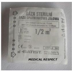 Gaza jałowa opatrunkowa 100% bawełny 0,5m2
