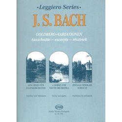 PWM Bach Johann Sebastian - Wariacje Goldbergowskie na orkiestrę kameralną. Seria Leggiero (partytura i głosy)