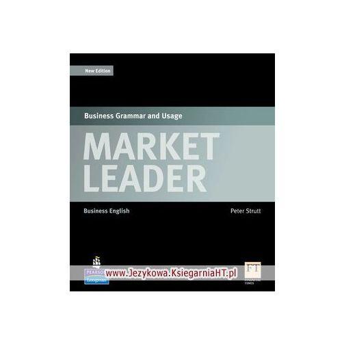 Książki do nauki języka, Market Leader Specialist Titles, Business Grammar and Usage (opr. miękka)