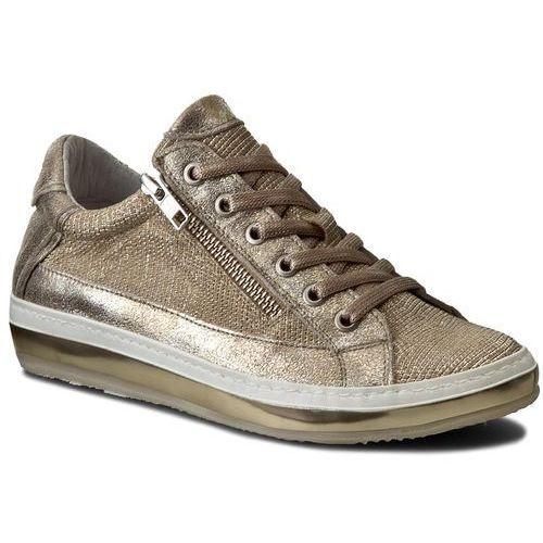 Półbuty damskie, Sneakersy KHRIO - 171K6104MYPSLQ Visone/Zecchino/Bianco