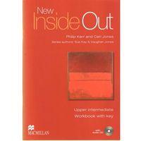 Książki do nauki języka, New Inside Out Upper Intermediate Ćwiczenia + CD (z Kluczem) (opr. miękka)